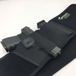 Belly Band Holster for Concealed Carry, IWB Holster