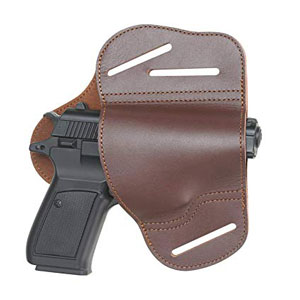 Outside The Waistband Leather Gun Holster