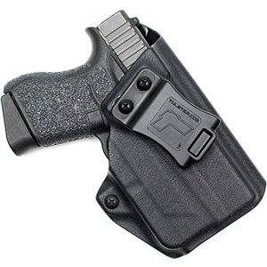 Tulster Glock 43 w/TLR-6 Holster IWB Profile